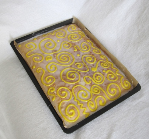 Lemon Tray Bake